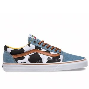 Toy Story x Vans collaboration collection Woody
